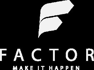 Logo Factor Consultoria em Branco